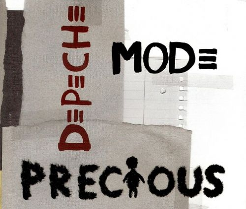 DEPECHE MODE Precious CD Single Mute 2005